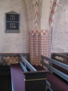 Gudme kirkes kalkmalerier har været inspiration