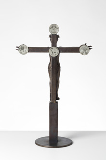 Mogens Møllers krucifiks set bagfra