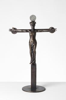 Mogens Møllers krucifiks set forfra